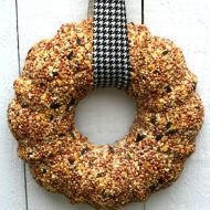 How to Make a Birdseed Wreath