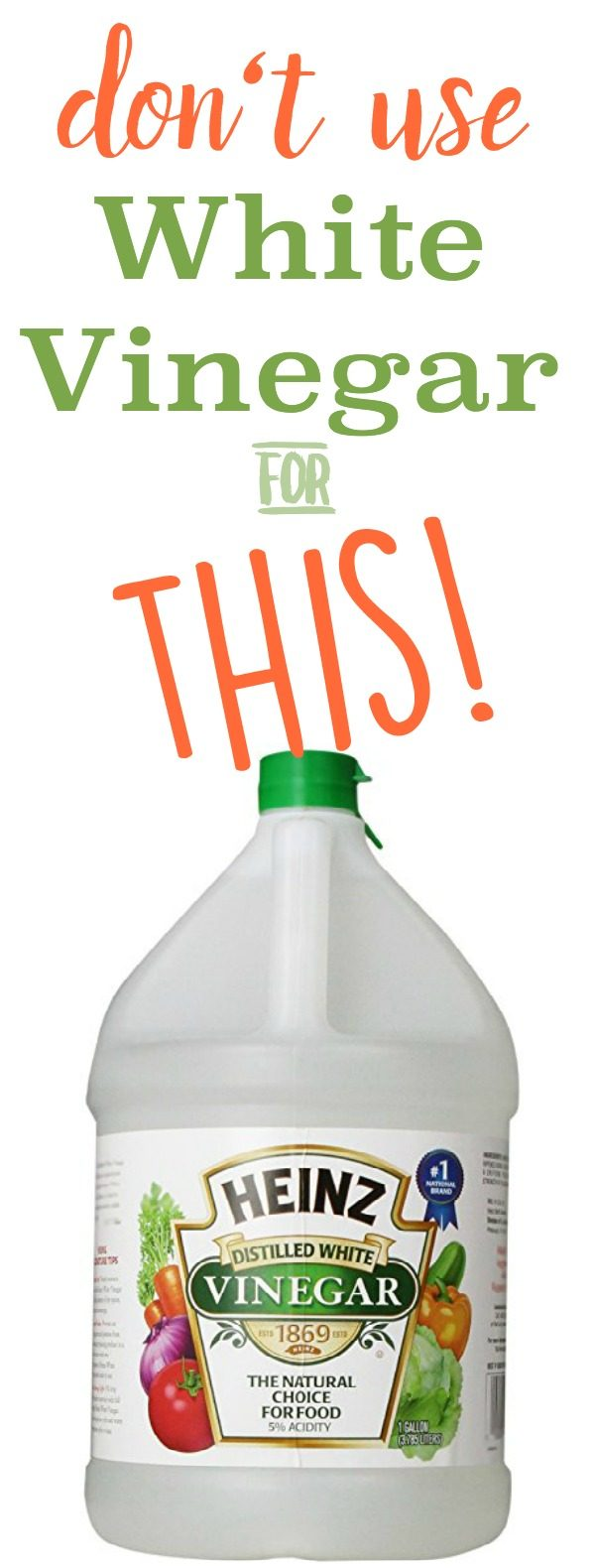 5 Reasons Not To Clean With Vinegar Today S Creative Life