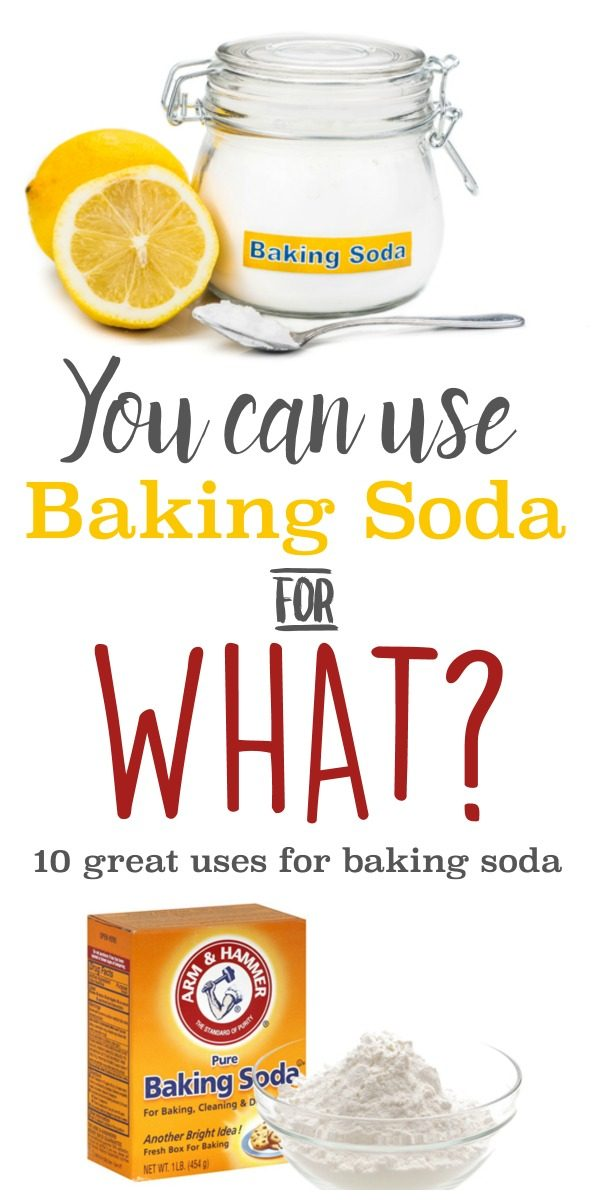 10 Great Uses for Baking Soda | Cleaning Hacks | Life Hacks | Use household items for chemical free cleaning. Deodorize, clean and unclog drains | TodaysCreativeLife.com