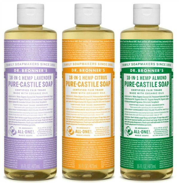 Frugal Ways to use Castile Soap | TodaysCreativeLife.com