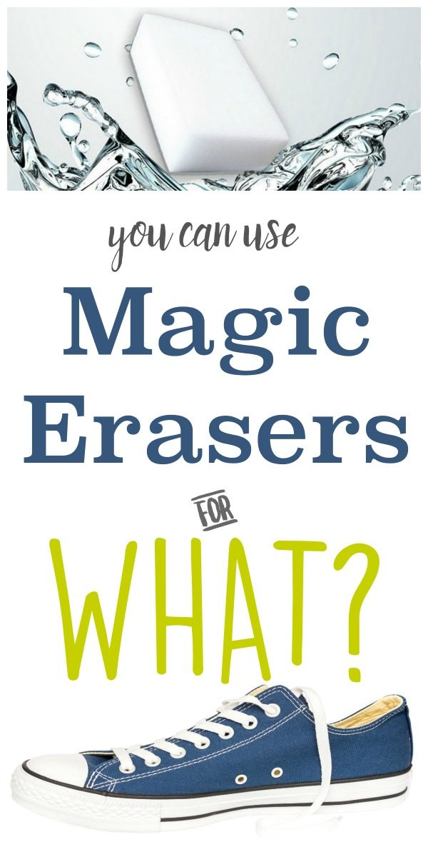 20 Clever Ways to use Magic Erasers | Cleaning is easy with Magic Erasers. Stain removal of Crayons, soap scum, hair dye, grout cleaner | Hard to clean stains GONE! | TodaysCreativeLife.com