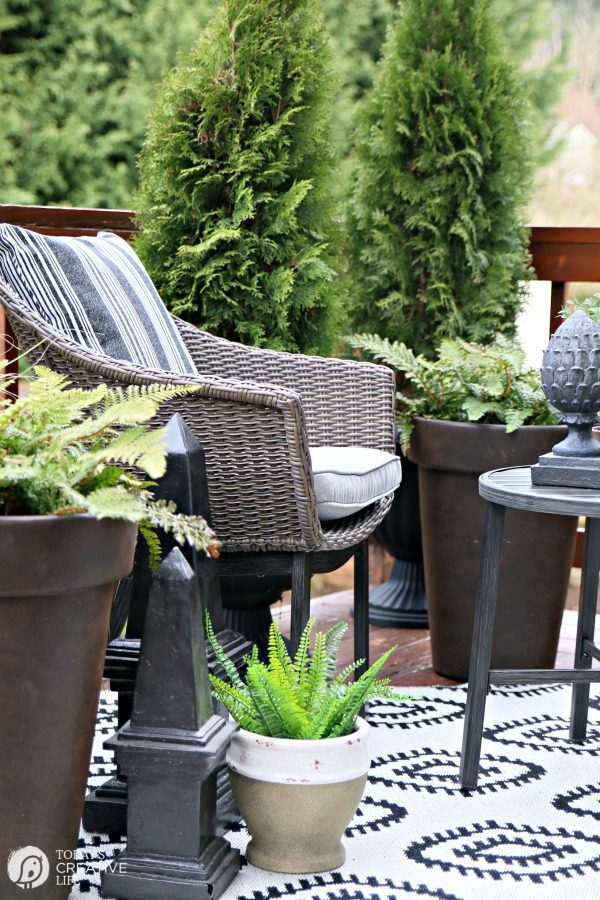 decor container ideas hometalk outdoor deck the decorating gardening on living decks