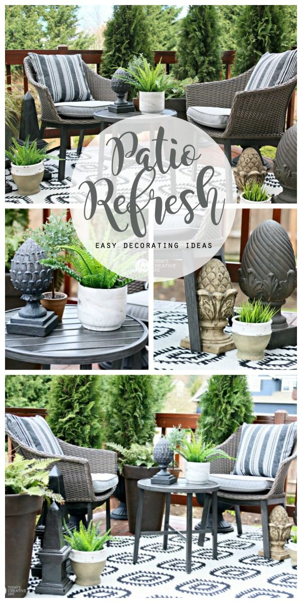 Easy Patio Decorating Ideas | Patio Refresh Easy Ideas | Simple Outdoor  Deck U0026 Patio Decorating. Better Homes U0026 Gardens