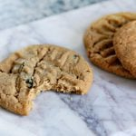4 Ingredient Peanut Butter Cookies | adding chocolate chips makes this 3 ingredient PB Cookie Recipe a four ingredients | Easy cookie recipe | TodaysCreativeLife.com