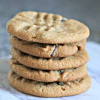 4 Ingredient Peanut Butter Cookie Recipe