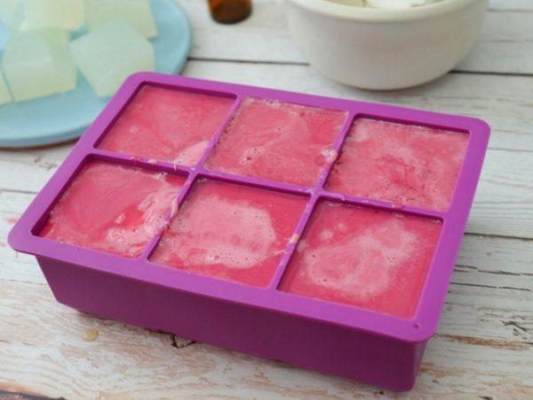 Handmade Gemstone Shaped Soap | How to Make Soap | DIY Soap Recipes | Shaped Soap Ideas | Pink Soap. Soap Cubes | EverythingEtsy.com for TodaysCreativeLife.com