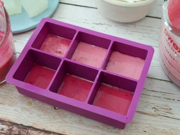 Handmade Gemstone Shaped Soap | How to Make Soap | DIY Soap Recipes | Silicone Tray | Shaped Soap Ideas | Pink Soap. EverythingEtsy.com for TodaysCreativeLife.com