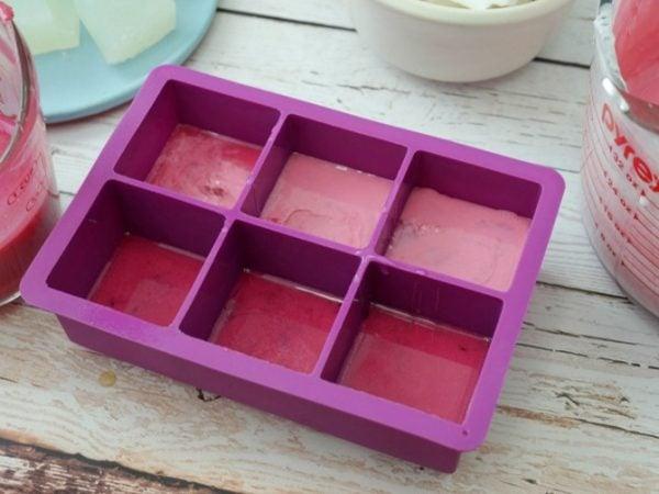 Handmade Gemstone Shaped Soap | How to Make Soap | DIY Soap Recipes | Silicone Tray | Shaped Soap Ideas | Pink Soap. EverythingEtsy.com for TodaysCreativeLife.com