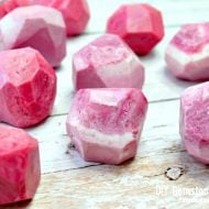 Handmade Gemstone Shaped Soap | How to Make Soap | DIY Soap Recipes | Shaped Soap Ideas | Pink Soap. EverythingEtsy.com for TodaysCreativeLife.com