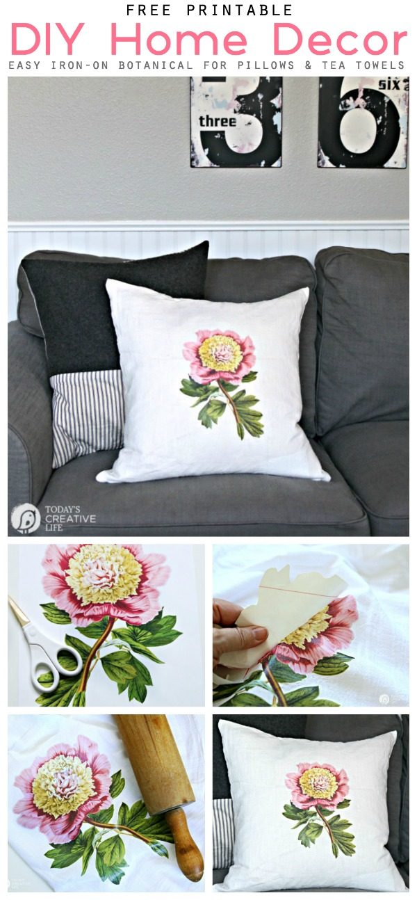 picture about Printable Iron on Sheets named Do-it-yourself Household Decor with Iron Upon Go Sheets Todays