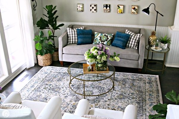 Living Room Ideas on a Budget | Today\'s Creative Life