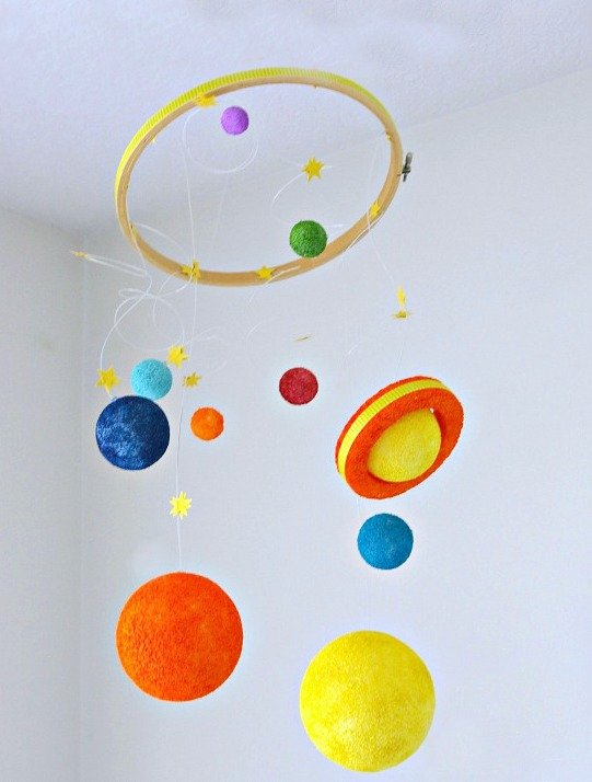 Diy Solar System Kids Craft Today S Creative Life