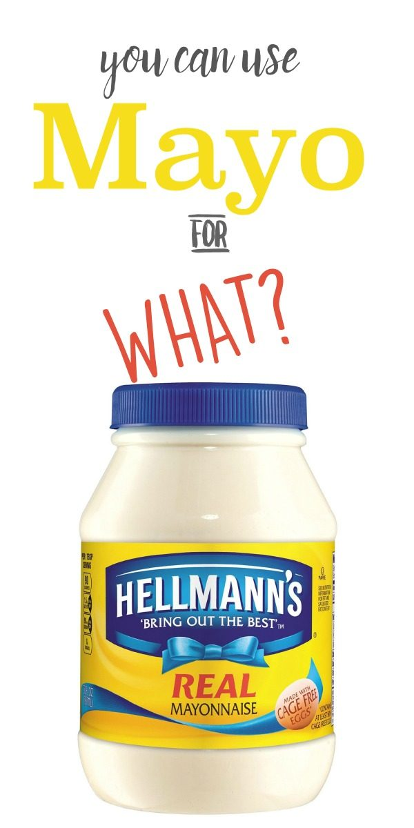 10 Unusual Ways to Use Mayonnaise   Use mayo for these household hacks. Clean with mayonnaise, remove gum from hair, polish silver, remove adhesive and more ideas on who you can use Mayo. TodaysCreativeLife.com