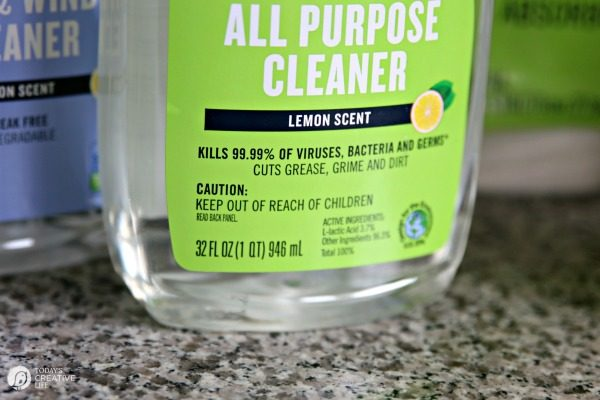 Toxin Free Cleaning - Detox your Home | Spring Clean your Cleaning Products | Open Nature Cleaning and Care | Dye free, biodegradable, and more. | TodaysCreativeLife.com