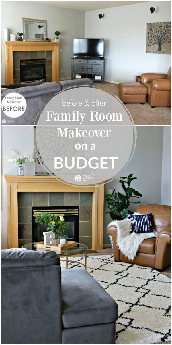 Family Living Room Designs: Family Room Ideas On A Budget