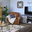 Family Room Ideas on a Budget