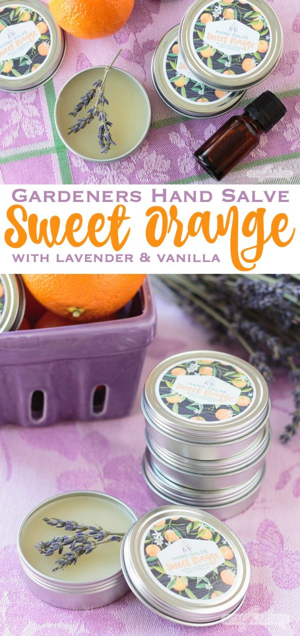 Sweet Orange Hand Salve by Atta Girl