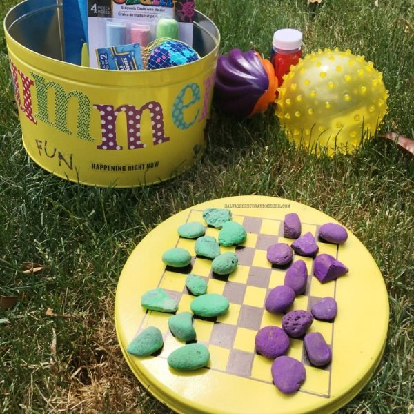 DIY Summer Activity Kit for Kids | Summer Camp at Home | I'm Bored Activity Tin | Kids Crafts and activities | SalvageSister & Mister for TodaysCreativeLife.com