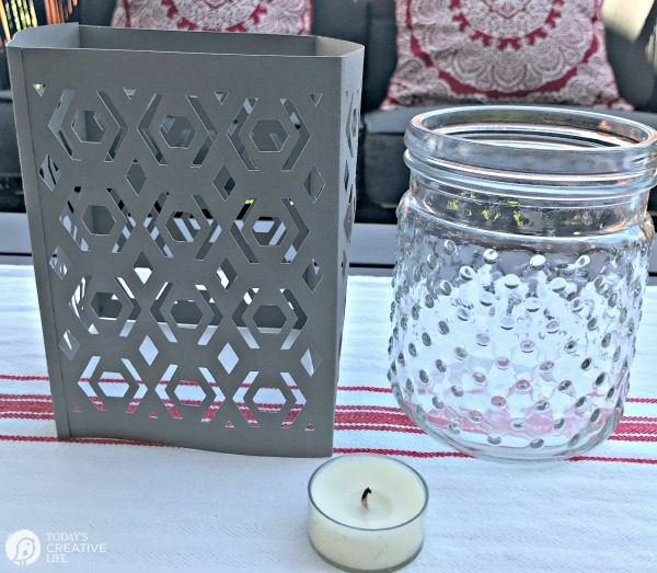 DIY Cricut Paper Lantern | Scoring Wheel | TodaysCreativeLife.com