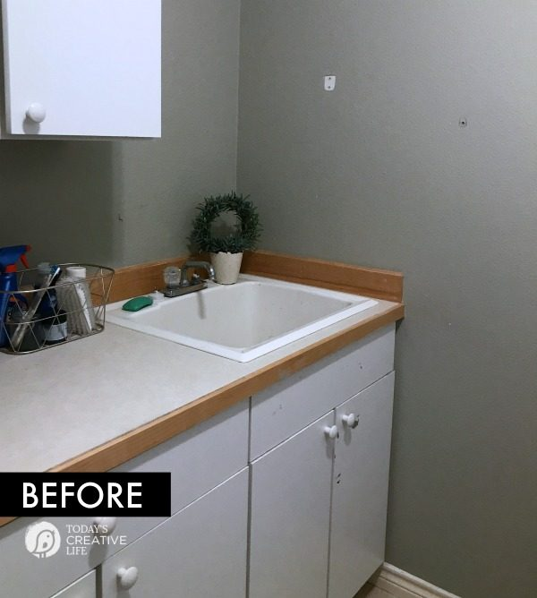 Laundry Room Makeover _ Before Photos