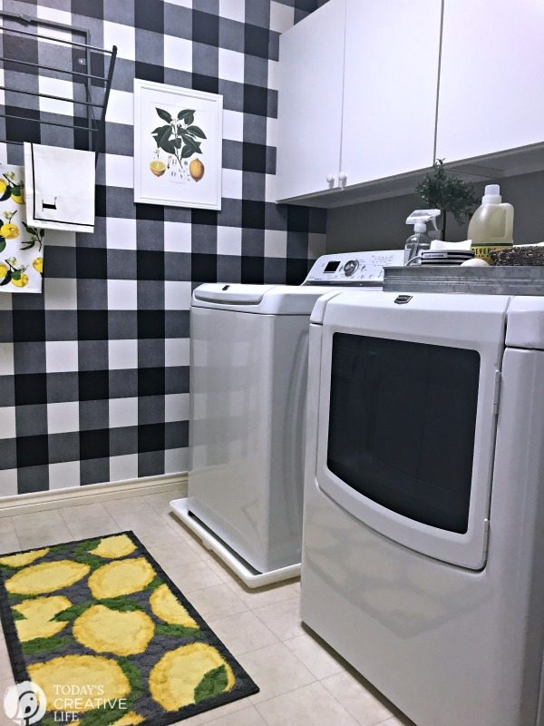 laundry room makeover - AFTER photos