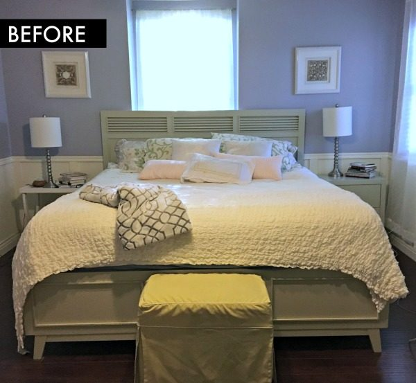 Bedroom Room Makeover BEFORE