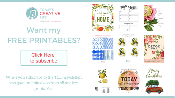 Free Printables on Today's Creative Life