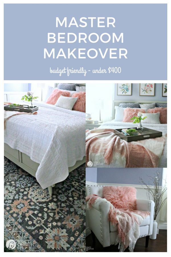 Budget-Friendly Bedroom Decorating Ideas | Master Bedroom Room Makeover | Bedroom Decor | Better Homes & Gardens | TodaysCreativeLife.com #BHGLivebetter AD