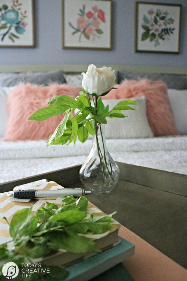 Budget-Friendly Bedroom Decorating Ideas | Room Makeover | Bedroom Decor | TodaysCreativeLife.com