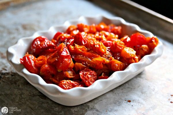Roasted Tomatoes Recipe | Easy to make | TodaysCreativeLife.com