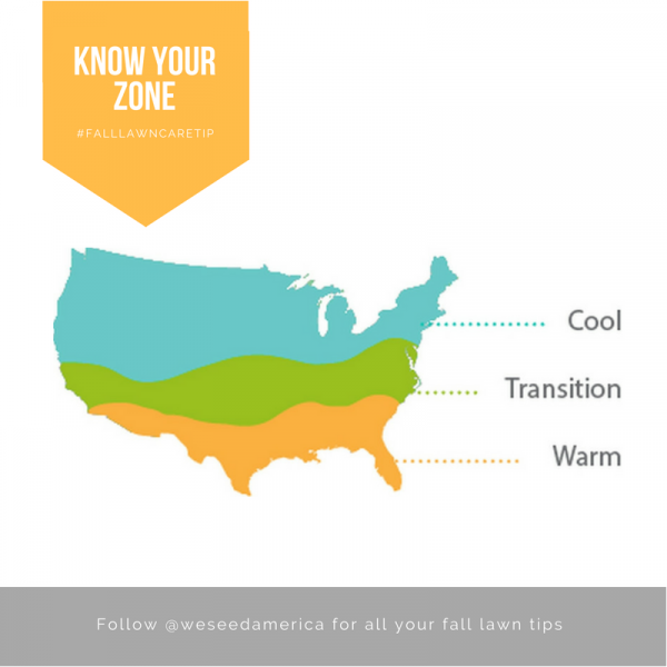 Cool Zone Warm Zone for grass growth | WeSeedAmerica