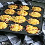 Hash Brown Ham and Cheese Egg Cups | Easy to make breakfast ideas | TodaysCreativeLIfe.com