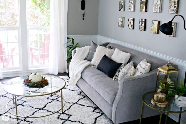 Simple Fall Decorating Ideas | Neutral Home Decor | Room Update | TodaysCreativeLife.com