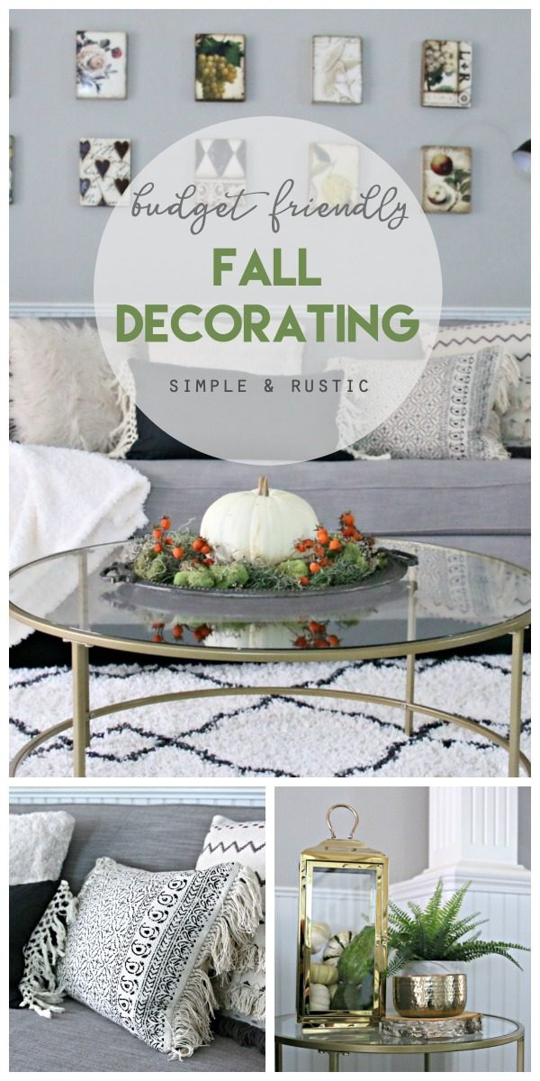 Simple Fall Decorating Ideas | Today\'s Creative Life