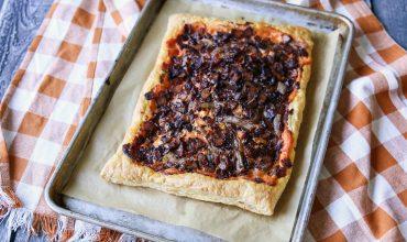 Puff Pastry Savory Tart Recipe