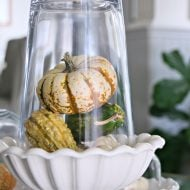 Simple Fall Table Decor