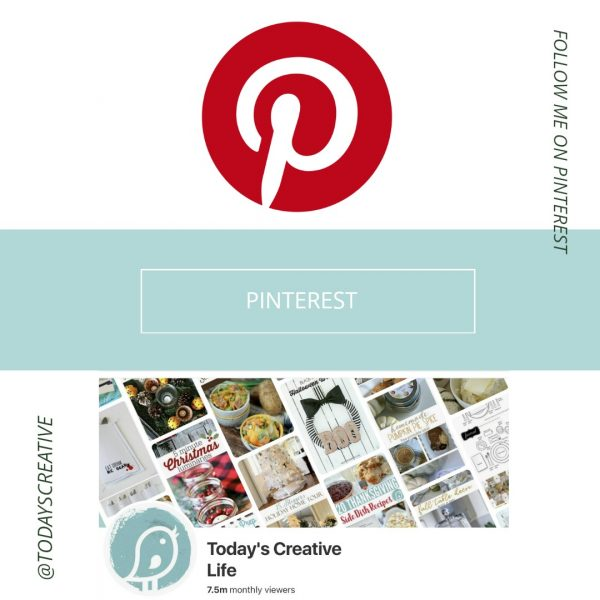 Follow me on Pinterest | TodaysCreativeLife.com