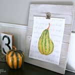 DIY Printable Wall Art for Fall | TodaysCreativeLife.com