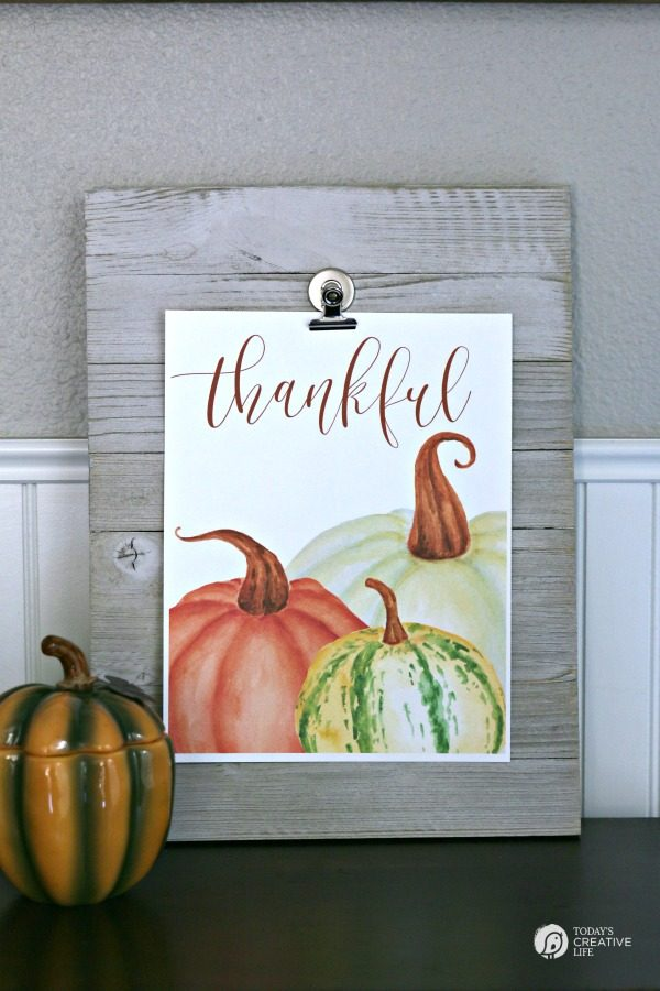 Free Printable Wall Art for Fall | TodaysCreativeLife.com