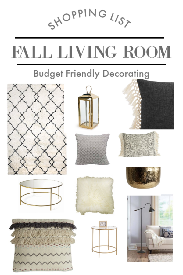 Simple Fall Decorating Ideas | Shop this Look | TodaysCreativeLife.com