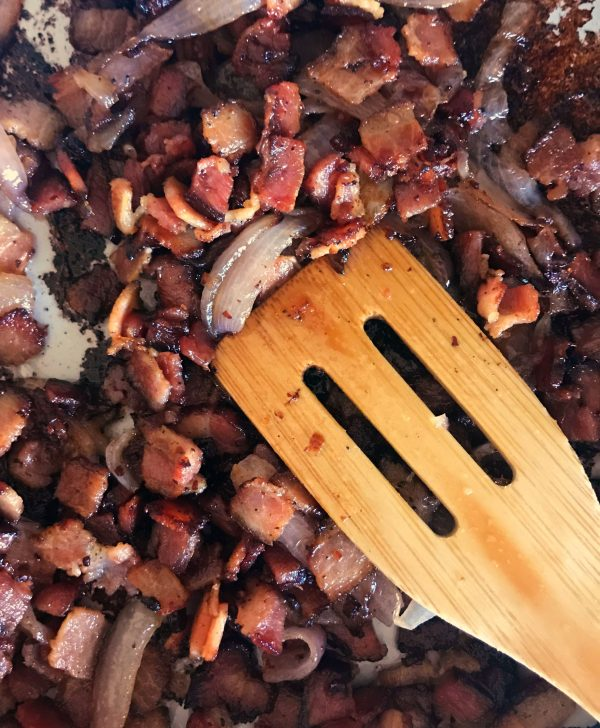 Caramelized Bacon and Onions | TodaysCreativeLife.com