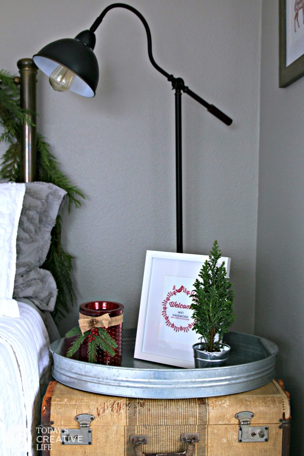 Guest Bedroom Holiday Makeover | Guest Room Ideas | TCL
