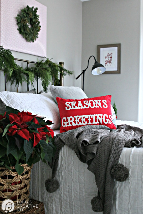 Budget Friendly Holiday Guest Bedroom Makeover | Better Homes & Gardens