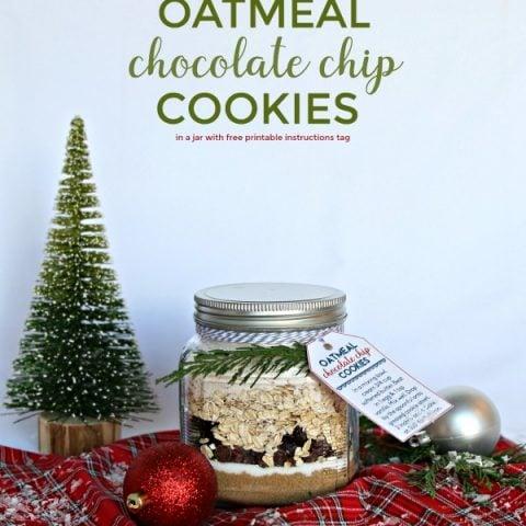 Oatmeal Cookie Mix in a Jar Recipe