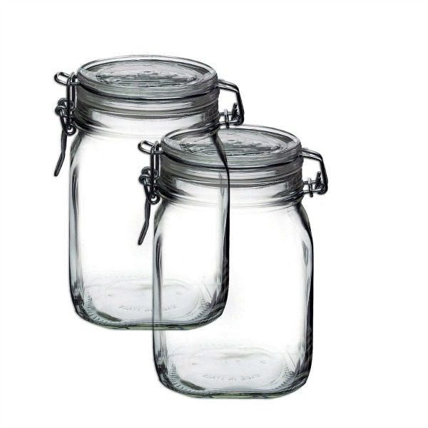 Hinge Top Jar for Layered Gift Mixes