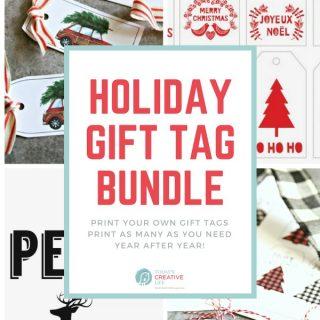 Holiday Gift Tag Bundle