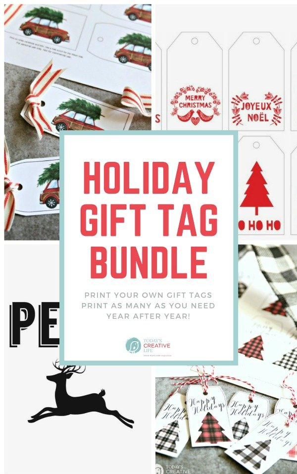 Holiday Gift Tag Bundle