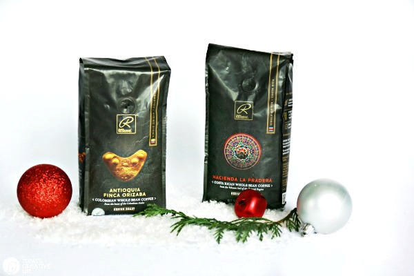 Signature RESERVE Whole Bean Coffee | Holiday Gift Basket | TodaysCreativeLife.com