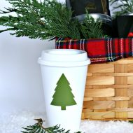 Easy Holiday Gift Basket Ideas | Coffee and Tea Gift Basket Ideas | TodaysCreativeLife.com