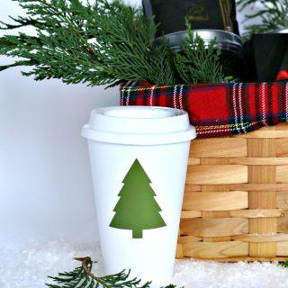 Easy Holiday Gift Basket Ideas | Coffee and Tea Gift Basket Ideas | TodaysCreativeLife.com